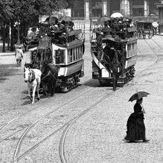 HISTOIRE DES ANCIENS AUTOBUS PARISIENS - 1877