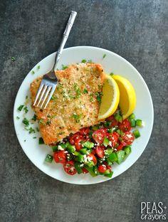 Herb-Crusted Dijon Salmon #healthy (pineado por @PabloCoraje)