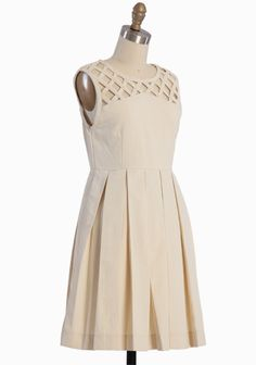Lily Pleated Dress By Dear Creatures   Modern Vintage Dresses $117.99