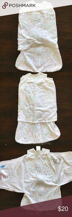 NWOT Halo sleep sack swaddle NWOT Halo sleep sack swaddle. NB size (birth- 3 months). Brand new, never used. 100% cotton 💙 Halo Other