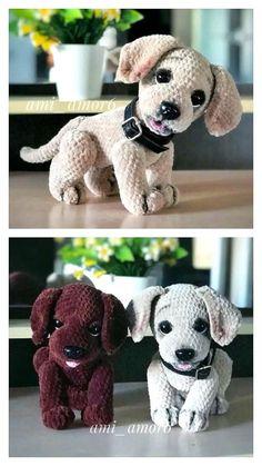 Animal Knitting Patterns, Crochet Animal Amigurumi, Crochet Amigurumi Free Patterns, Knitted Animals, Stuffed Animal Patterns, Crochet Dolls, Free Crochet, Pixel Crochet, Crochet Projects