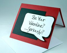 Community Post: 22 Anti-Valentine's Day Cards From Etsy Just For You Anti Valentines Day, Funny Valentine, Valentine Crafts, Valentine Day Cards, Birthday Greeting Cards, Birthday Greetings, Hallmark Holidays, Romantic Gestures, Good Jokes