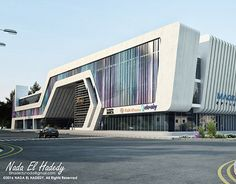 """Check out this project: """"o-zone medical center"""" Best Picture For Medical quotes For Your Ta Office Building Architecture, Building Facade, Futuristic Architecture, Facade Architecture, Concept Architecture, Building Design, Facade Design, Exterior Design, Gym Design"""