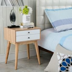 Porthos Home Wright Mid-Century Side Table