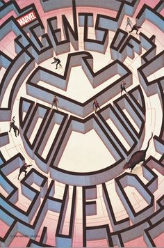 Here's the first of Marvel's #AgentsofSHIELD: #TheArtofLevel7 prints. Learn more & purchase: http://abc.tv/1jdoy1L