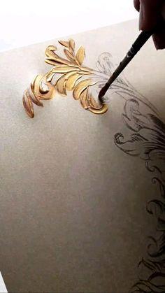 French Wedding, Gold Wedding, Destination Wedding, Wedding Planning, Creative Wedding Invitations, Color Themes, French Vintage, Art Sketches, Wedding Inspiration
