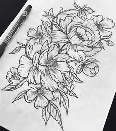 This is perfect for my half sleeve! Add a skull and a pocketwatch & yes please!