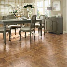 Buy Blond Oak Karndean Art Select Luxury Vinyl Tile Wood Parquet Flooring from our Hard Flooring range at John Lewis & Partners. Wood Parquet, Parquet Flooring, Wooden Flooring, Tile Wood, Flooring Ideas, Laminate Flooring, Luxury Vinyl Flooring, Luxury Vinyl Tile, Vinyl Plank Flooring