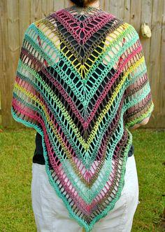 The Lydia Shawl: free pattern