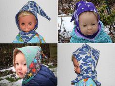 """Nähanleitungen Baby - Baby-Mütze """"Tobi"""" (Gr. 29 - 45) - ein Designerstück von Kreativlabor-Berlin bei DaWanda"""