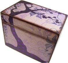 Hey, I found this really awesome Etsy listing at http://www.etsy.com/listing/111234879/recipe-box-decoupaged-large-and