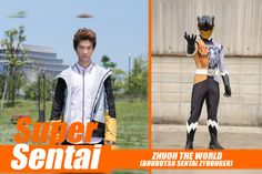 HEROScoop: Meet Zyuoh The World! The Deathgalien Assassin?