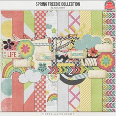 Spring Collection Freebie Mini Kit from Just Jaimee at @Pixels & Company
