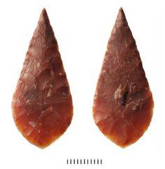 Neolithic flint arrowhead