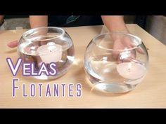 Como Hacer Velas Flotantes - YouTube