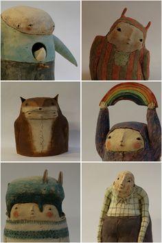 """petits tours dans mon atelier """"TERRE DE LUNE"""" ....au fil de mes créations"""