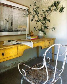 Keltainen talo rannalla: Koteja ja ideoita