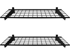 HyLoft 291 45-Inch by 15-Inch Slat Wall Shelf, 2-Pack, Black (Slat Wall Only) by HyLoft. Save 49 Off!. $77.14. From the Manufacturer                For installation on slat walls only. HyLoft 2-shelf slat wall storage systems help you make the most of your wasted wall space. These shelves, made of strong, durable steel with an attractive black scratch resistant finish, have a unique, patented low profile brackets to increase storage space. 45 by 15 inches, each shelf can hold up to 150 ...