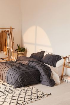 Ripple Jersey Duvet Cover | Urban Outfitters