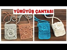 Crochet Purses, Purses And Bags, Crochet Top, Diy And Crafts, Crochet Earrings, Reusable Tote Bags, Knitting, Pattern, Macrame