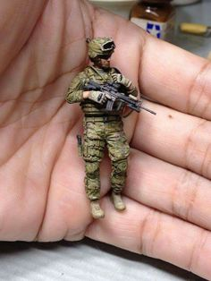 Military Action Figures, Modeling Techniques, Model Maker, Military Modelling, Military Diorama, Miniature Figurines, Figure Model, Toy Soldiers, Art Model