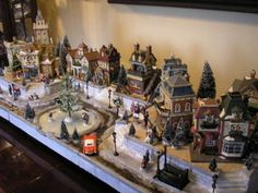 Dept 56, Lemax Display Platform! Christmas in the City! Town Center! by addie