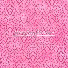 Sleeping Beauty Damask Fabric - Pink