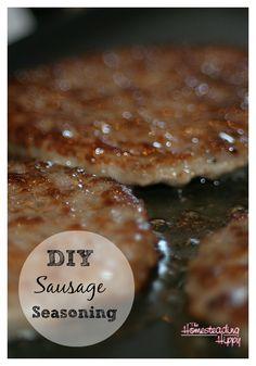 diy sausage seasoning
