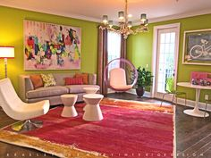 A girls room designed in Florida. Unique and beautiful girls rooms.