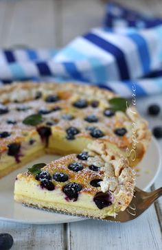 Italian Desserts, Italian Recipes, Jam Tarts, Breakfast Dessert, Kakao, Sweet Cakes, Sweet Recipes, Daily Meals, Cupcake Cakes