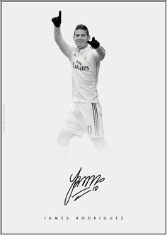 The Signature Series on Behance - James Rodriguez - Real Madrid