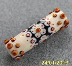 Florentine Lampwork bead by Pixie Willow Designs, via Etsy.