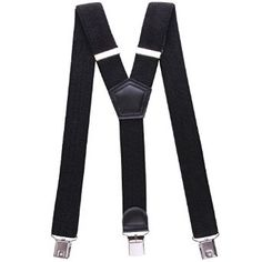 Sale:$14.99 & FREE Shipping on orders over $49. FREE Returns. Details You Save:	$10.00 (40%)  JINIU Mens Suspenders Adjustable Elastic Y Shape Strong Clips Heavy Duty