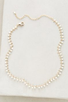 Infinite Collar Necklace - other colors available.   #anthropologie
