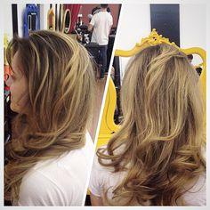 Highligths By Wal Silva #circushair #circuspamplona #hair #highlights #ombre #fashion #style