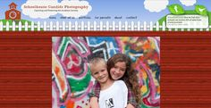 Schoolhouse Candids photography website design by New Skin Media. SmugMug Customization