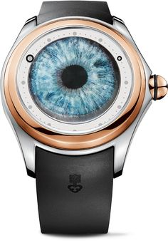 La Cote des Montres : La monre Corum Big Bubble Anima Matteo Ceccarini - Big Bubble is watching you