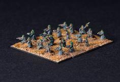 Trench Coat Infantry, DKoK, Korps, Krieg, Epic, Flamer, Lasgun – Trolls Under the Bridge