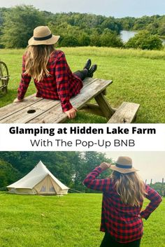 Glamping at Hidden Lake Farm With The Pop-Up BNB - Adventure Mom