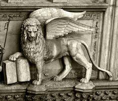 St Mark Winged Lion, Venice , province of Venezia , Veneto Italy