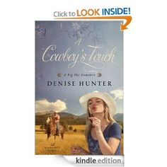 On sale today for $1.99: A Cowboy's Touch by Denise Hunter, 321 pages, 4.4 stars, 98 reviews. (Please LIKE and REPIN if you love daily deal #Kindle eBooks like this.)
