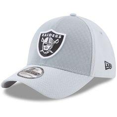 Oakland Raiders New Era 2017 Color Rush Kickoff Reverse Team 39THIRTY Flex  Hat – Silver accbbc34b