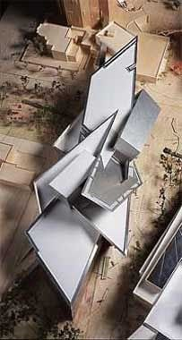 Daniel Libeskind Denver Art Museum He makes me wanna do models ♥ and i normally hate to do them