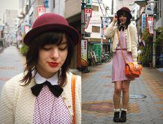 Vintage and velvet (by Annika Victoria) http://lookbook.nu/look/2748575-Vintage-and-velvet