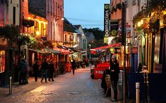 Galway Ireland--probably one of my most favorite places! I spent 6 weeks here in the summer of 2010.