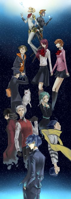 Yamada83, PERSONA 3, The Journey to the Answer