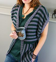 Great warm weather knitting project: the Weekend Coffee Cardigan. This is a lightweight cardigan that has an oversize fit and is knit with DK weight yarn (works well with cotton, or something with a bit of swing to it).