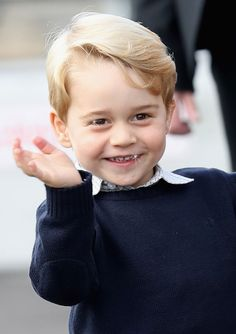 Prince George Said Farewell to Canada in the Cutest Way Ever
