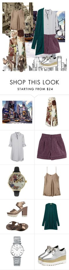 """Untitled #71"" by pasteldemerme ❤ liked on Polyvore featuring Valentino, United by Blue, Nina Ricci, Olivia Pratt, Vince, Janet Sport and Longines"