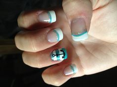fake nails designs with anchers - Google Search